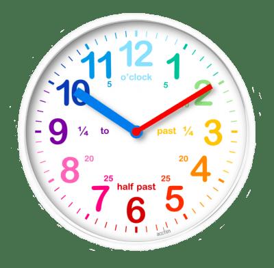 Как научить малыша понимать время